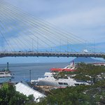 Sukarno bridge and Manado Tua island from my room