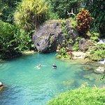 Wildside Hike destination: natural spring fed pool