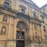 Fachada del Monasterio de Oña