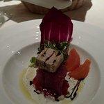 Hawaiian tuna with Foie gras  - Yummmmm!