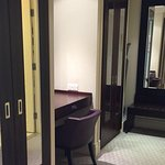 Walk in Wardrobe in executive suite.