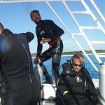 Borja, our dive instructor, de España