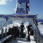 A nice dive boat, well organized, makes things go more smoothly.