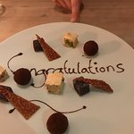 A special dessert prepared for our daughter - wow!