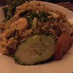 Thai Rice with Shrimp dish