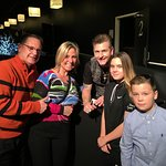 Meeting Greg Frewin after the show.