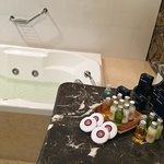 Baño y amenities de Grand Suite