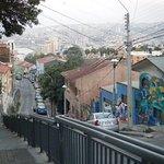 calle Capilla , desde Plazoleta San Luis (parada de Bus)
