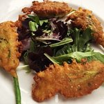 Seasonal Special Fried Zucchini Flowers