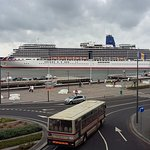 One of P&O ships in port.