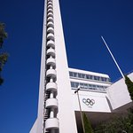 Turm des Olympia-Stadions
