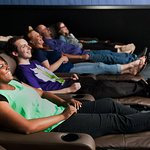 All auditoriums are equipped with fully-reclining luxury seats.