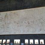 huge unfinished mural
