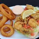 Shrimp and Oyster Po' Boy with Homemade Remoulade