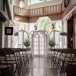Wedding Ceremony in the historic building of Olde Town Square and The Garden Ballroom.
