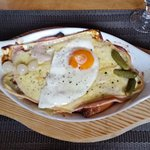 croute jambon fromage oeuf