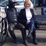 Blind Jack with Julia in Knaresborough