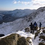 Winter on the Langdale Pikes