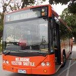 My shuttle bus