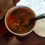Yummy vegetable and bean soup!!