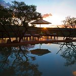 Nungubane pool sunset