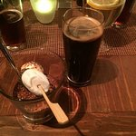 S'mores Chocolate Pots De Creme and Oatmeal Stout