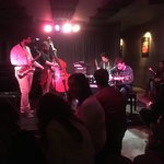 Just a night in hot club with students from a music school playing