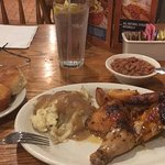 Dinner at Cracker Barrel