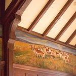 View of ceiling & wall, Hunt Room