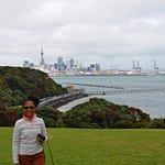 La vue sur Auckland