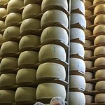 Millions of dollars with of Parmigiano Reggiano