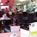 Inside the Hiway 101 Diner