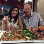 Amazing square pizza!