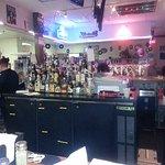 the bar at Hubcaps