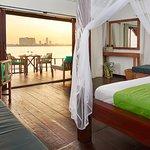 Floating bungalow suite