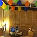 Room decoration on Birthday