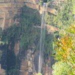 The Waterfall Running