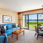 Bay Front Suite Living Room  1st