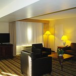 Living area in the junior suite - ask about an upgrade today