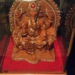Ganesh Idol near Reception Desk
