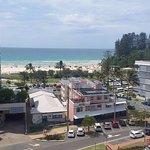 Nice view towards the beach