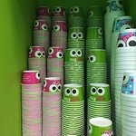 Sweet Frog Cicero - cool cups with eyes!
