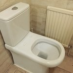 toilet with no seater??? disgusting