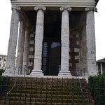 Il fronte del tempio
