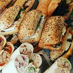 Our speciality! Paninis and Wraps