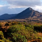 Lovely Views of Connemara National Park, great walking routes located near to the hotel