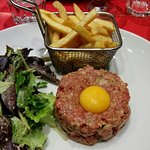 Le steak tartare