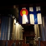 Flags of Colorado and Finland