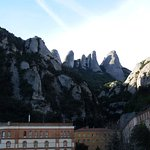 Montserrat. The serated mountain