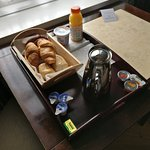 Breakfast - Brought to room at a time of your choosing